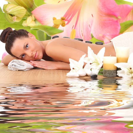 sexual chakra: spa woman