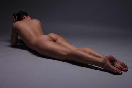 femme noire nue: filles flexibles photos de nu