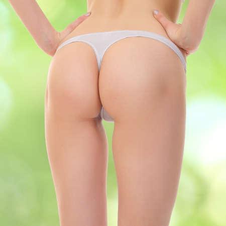 Sexy butt girls in underwear Standard-Bild
