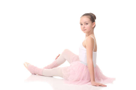 petti: lovely little girl, dressed as a ballerina