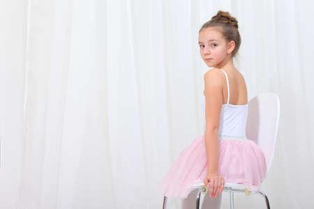 junge Mädchen Ballerina