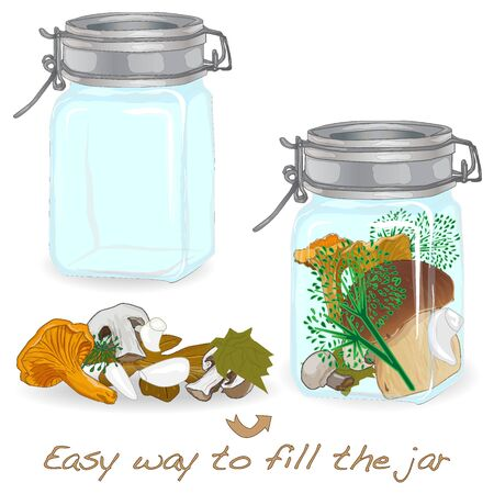 dill: Jar template isolated