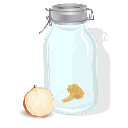 canning: Jar vector illustration isolated