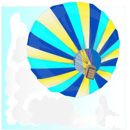 drift: Hot Air Balloon  montgolfier and Clouds