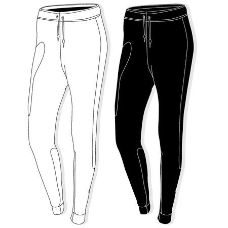 Sport trousers / pants isolated. Фото со стока - 74964846