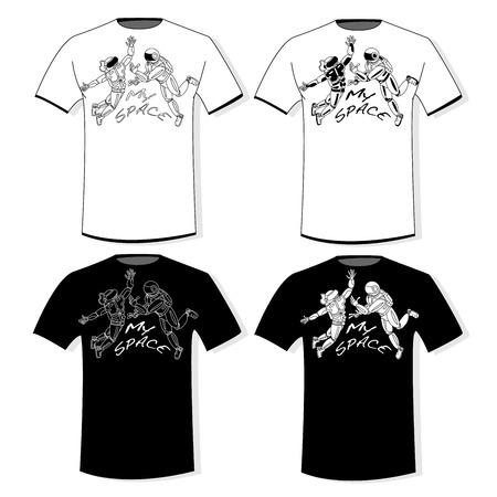 Impresión tipográfica para camisetas, sudaderas con capucha. Aislado. Ilustración de vector. Ilustración de vector