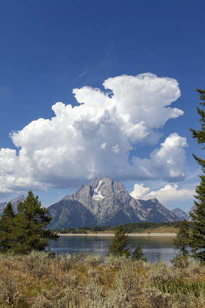 teton national park, wyoming, USA photo