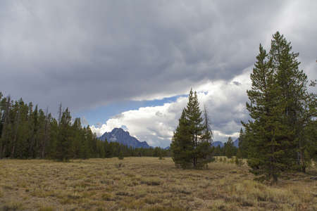 teton national park, wyoming, USA photo