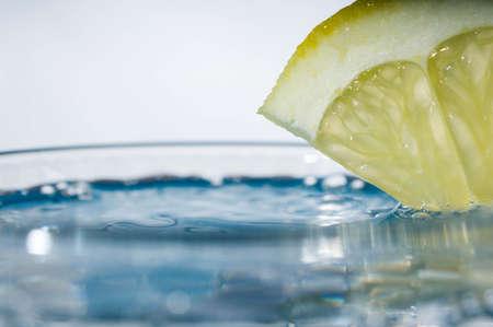 fresh clear water with fresh water splash