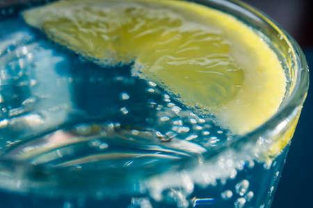 longdrink: fresh clear water with fresh water splash
