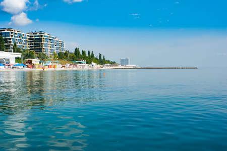 Panama City Beach water, ocean, usa, shore many row