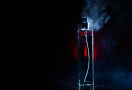 perfume, spark, cosmetic, aroma, fashion, fresh, drops, smoke