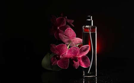 perfume, spark, cosmetic, aroma fashion fresh drops splash movement orchid flowers Imagens