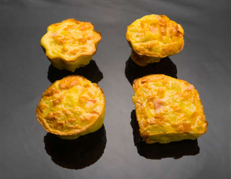 muffins with meat sausage egg breakfast ecological food milk, health, flour, recipes, table, tasty, vegetarian, happiness life