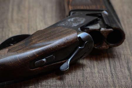 fusil de chasse: hunting rifle