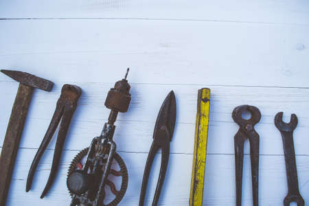 Old tools for the carpenter