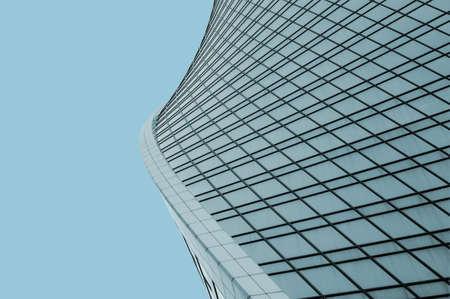 現代都市建築、建物の断片 写真素材