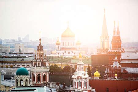 Architecture historique dans la ville de Moscou