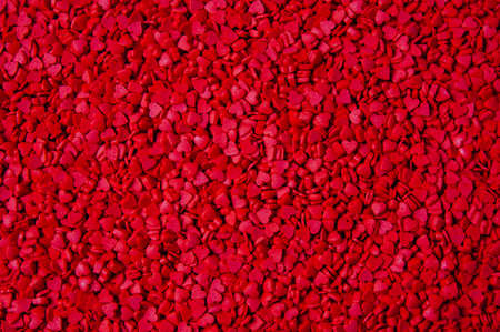 Background of red hearts. Valentines day concept