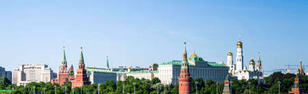 Historic architecture in Moscow city. Russia