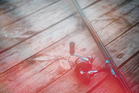 Fishing tackle Фото со стока