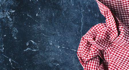 Kitchen textiles on a dark background Reklamní fotografie