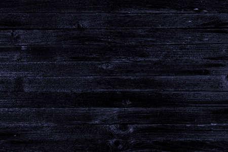 Dark wooden background, template for text or design Banco de Imagens