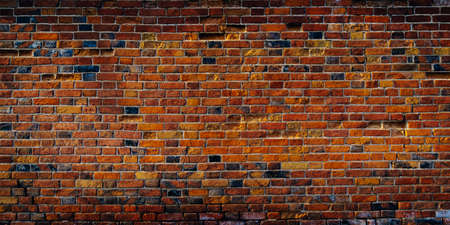 Red brick wall texture. Background for text or design
