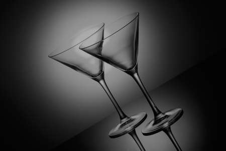 Coctail glass Stock Photo