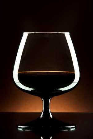 brandy glas Stock Photo