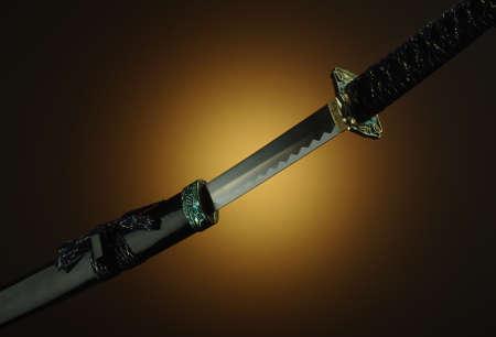 Original samurai katana grip