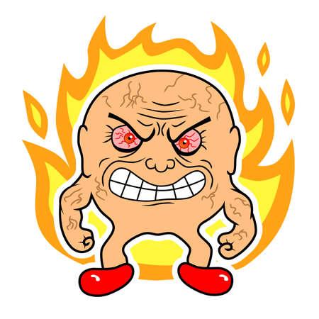 displeased: fury