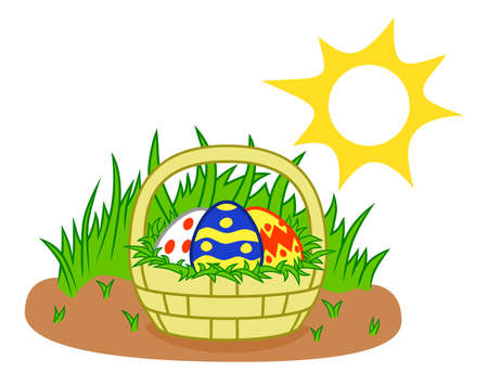 holyday: easter basket