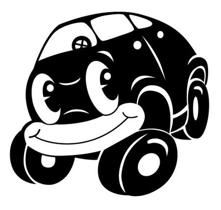 cartoon: cartoon car