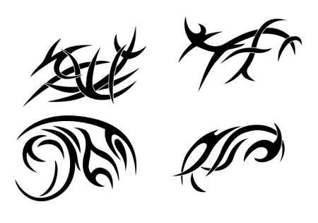 arts symbols: Ethnic ornament set