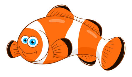 anemonefish: Cartoon clown fish