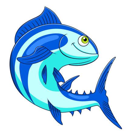 Cartoon tuna