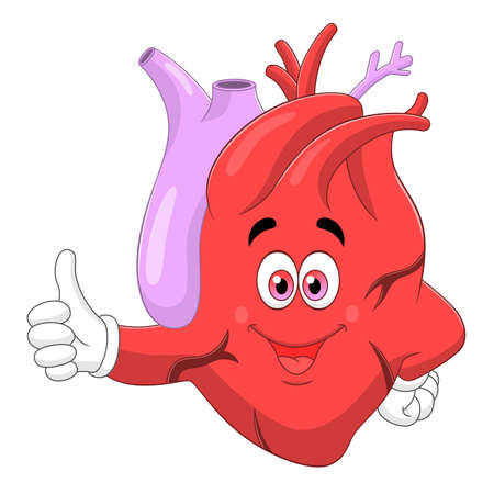 Heart thumb up