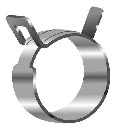 Hose clamp spring