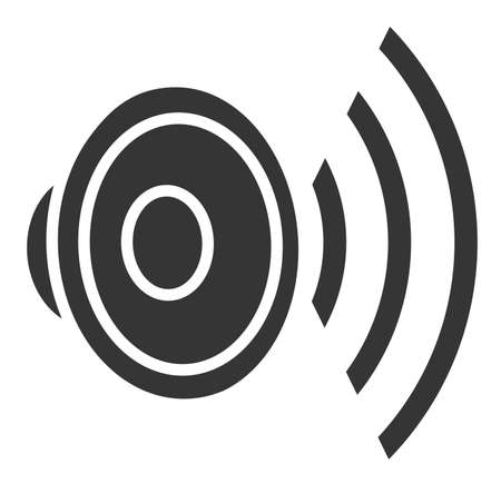 Gray loudspeaker