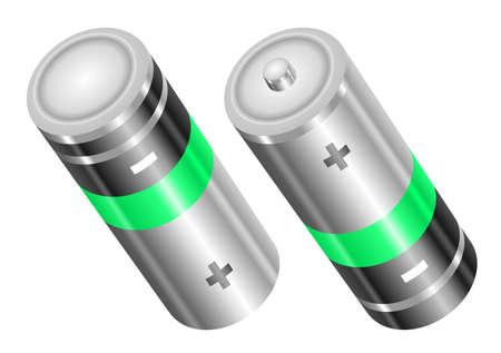 batteries 向量圖像
