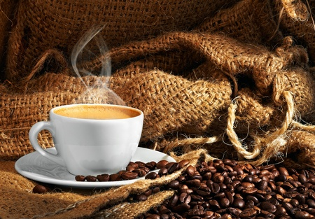 black seeds: coffee