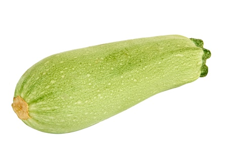 marrow squash: Vegetable marrow isolated on white background