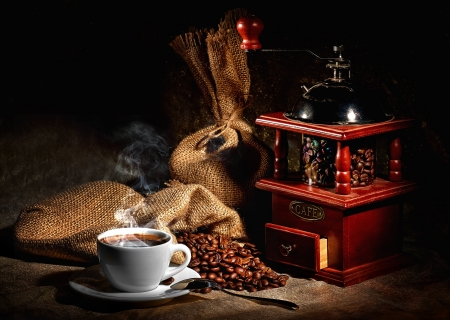 granos de cafe: caf? Foto de archivo
