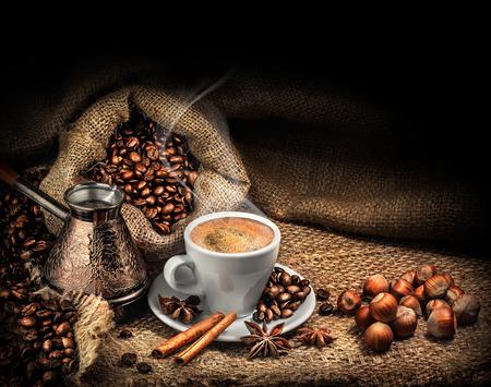 granos de cafe: caf�