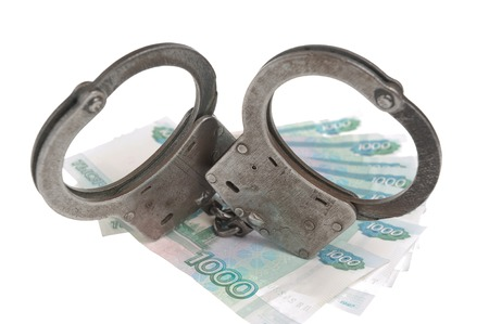 fraudster: Manette in denaro russo isolato