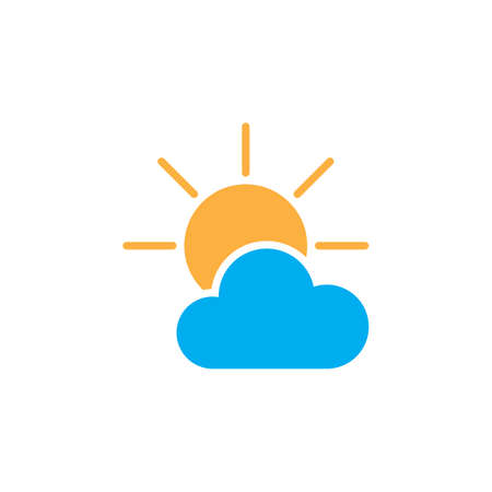 partially: Partially Sunny weather Icon