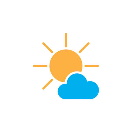 mostly: Mostly Sunny weather Icon