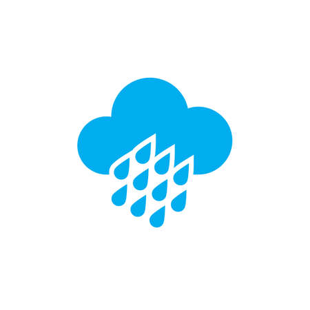 heavy: Heavy rain weather icon