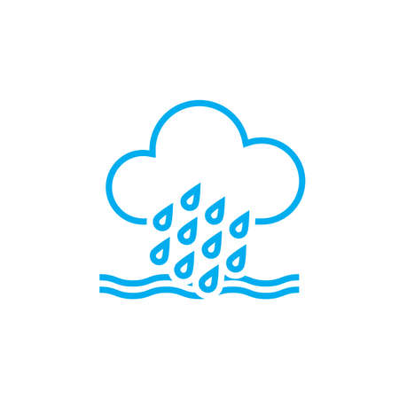 flood: Flood weather icon